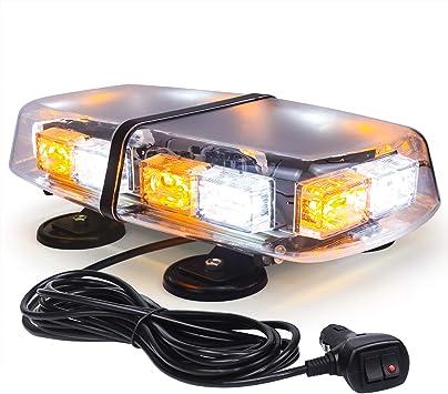 12V 36 LED Lamp Bar Colorful Warning Beacon Car Strobe Light Emergency Safety