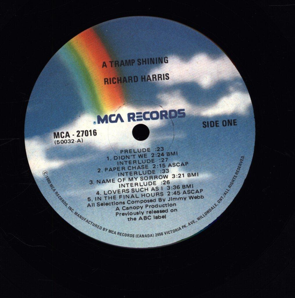 Richard Harris - A Tramp Shining - MCA Records - MCA-27016 - Canada ...