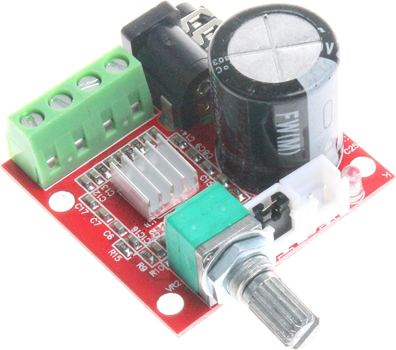 Monland PAM8610 Dual Kanal 12V Hd Digital Audio Stereo Verst?rkerplatine Klasse D 15W x 2 Hochleistung Verst?rker Modul