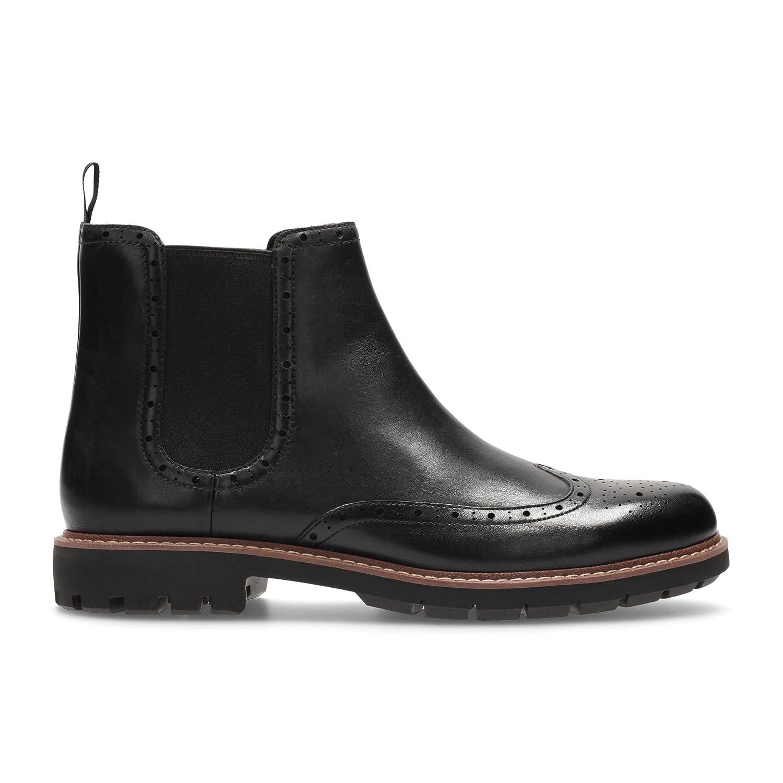 Clarks Herren Batcombe Top Boots, Chelsea Boots, Top Schwarz 21fb4d