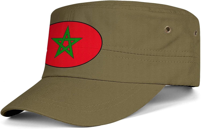 Unisex Military Hat Italia Italy Italian Flag Vintage Flat Top Cadet Army Caps