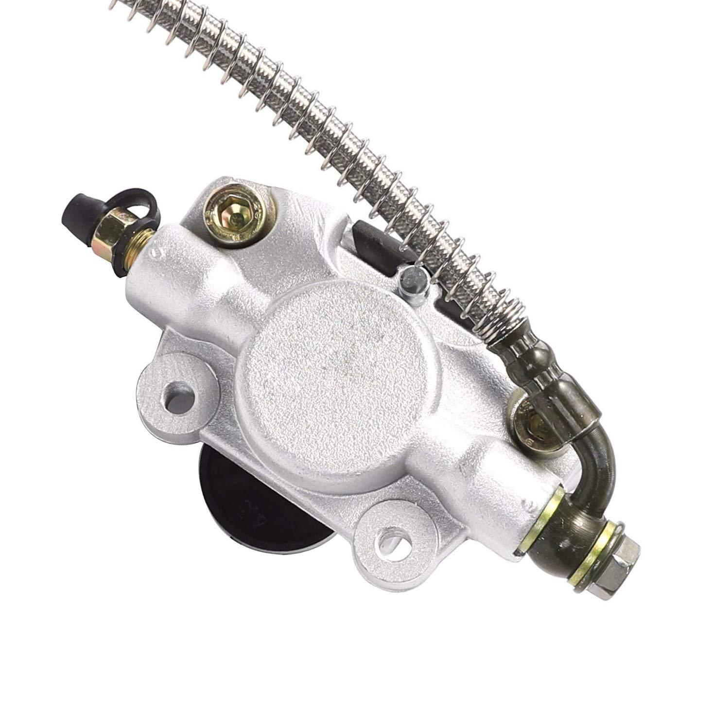 Roketa Rear disc brake assembly master cylinder caliper For ATV Quad 150cc 200 250cc Taotao Buyang Kazuma AIM-EX Coolsport Sunl