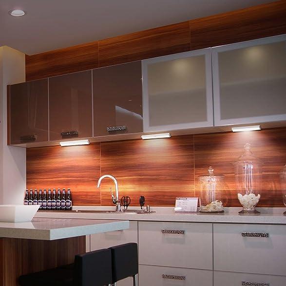 Amazon.com: Wireless Motion Sensor Cabinet Lights 10 LED USB Rechargeable  Closet Lights LED Under Cabinet Lighting For ...