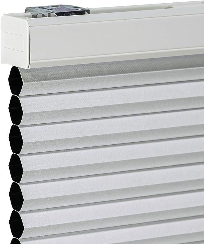 Amazon Com Chicology Cordless Cellular Shades Blackout Window Blind 54 W X 48 H Evening Mist Home Kitchen