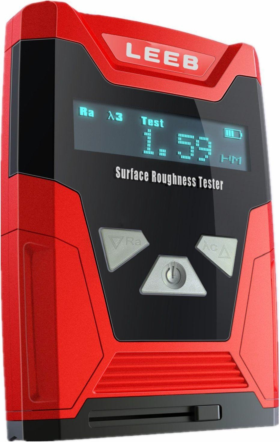 Surface Roughness Tester Leeb 410 - Ra:0.05-1 O .Oµm Rz:0.1-50µm by TestCoat