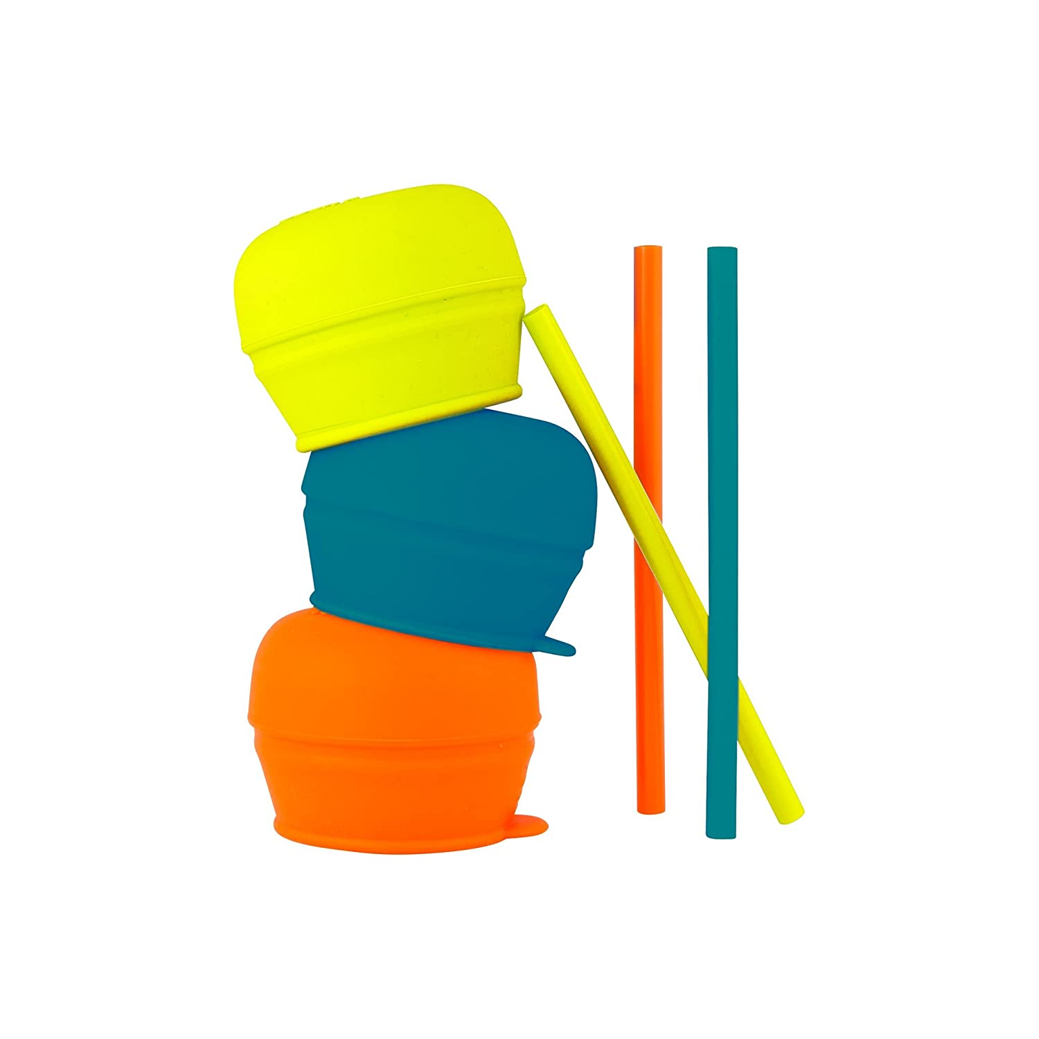 Boon SNUG Straw, Blue/Orange/Green B11149A