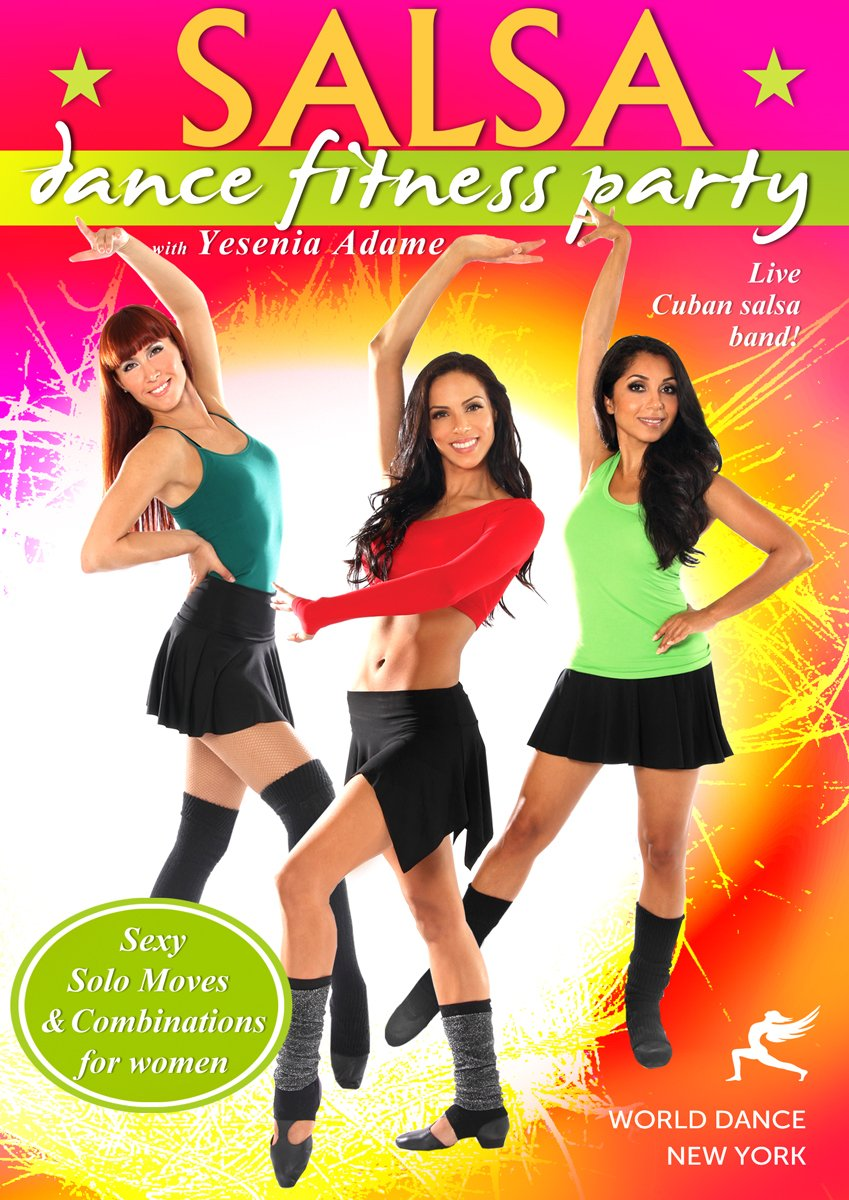 DVD : Salsa Dance Fitness Party (DVD)