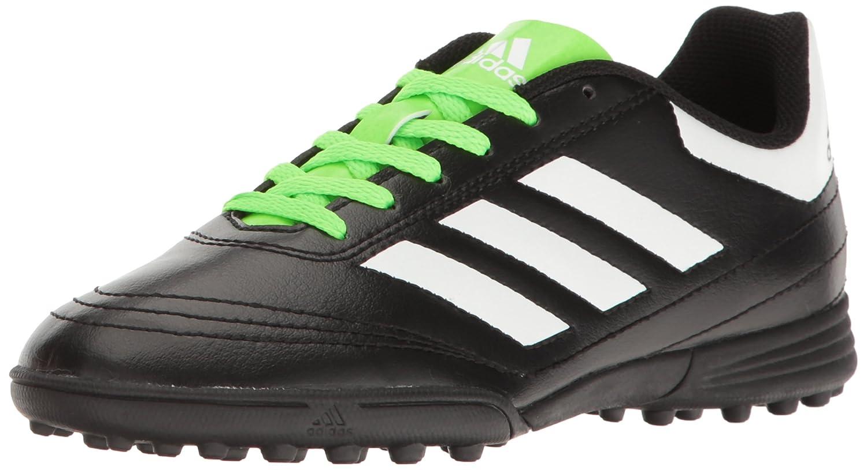 sports shoes b0074 b65dc Amazon.com  adidas Boys Goletto VI TF J Soccer Shoe, BlackWhiteSolar  Green, 3 M US Little Kid  Soccer