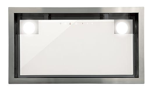Luxus lüfterbaustein cata edelstahl weißgas für 90cm schrank 1050m³