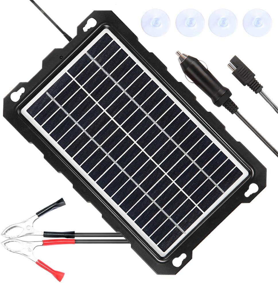 POWISER Solar Battery Maintainer & Charger