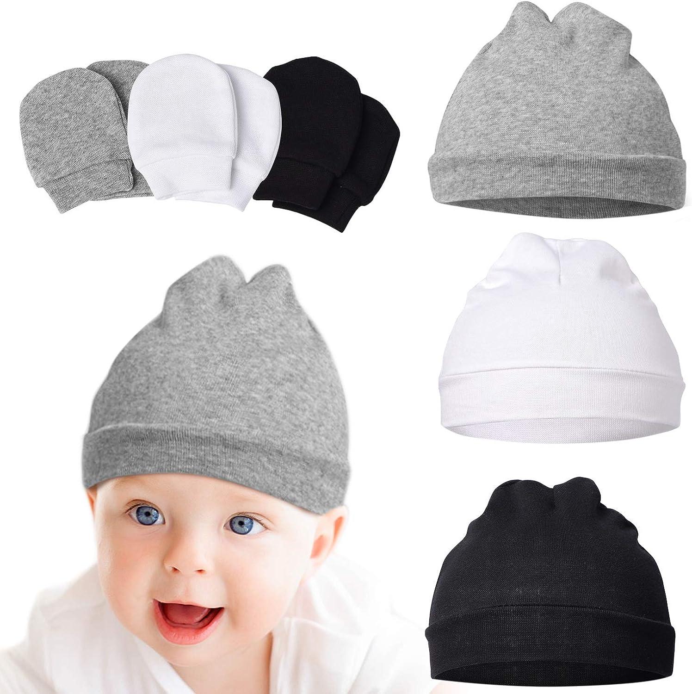 Unisex Boy Girl baby mittens 100/% Cotton