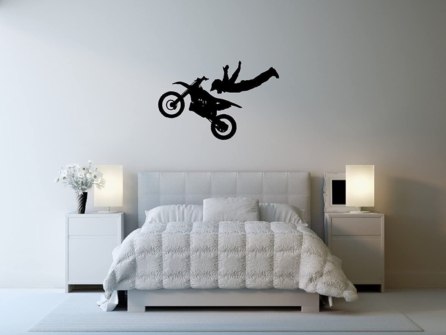 Amazon Motocross Wall Decal Sticker 7 Decal Stickers And