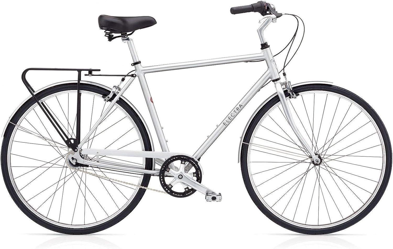 ELECTRA Loft 7i Hombre Bicicleta Regular Plata Ciudad Cilindro de ...