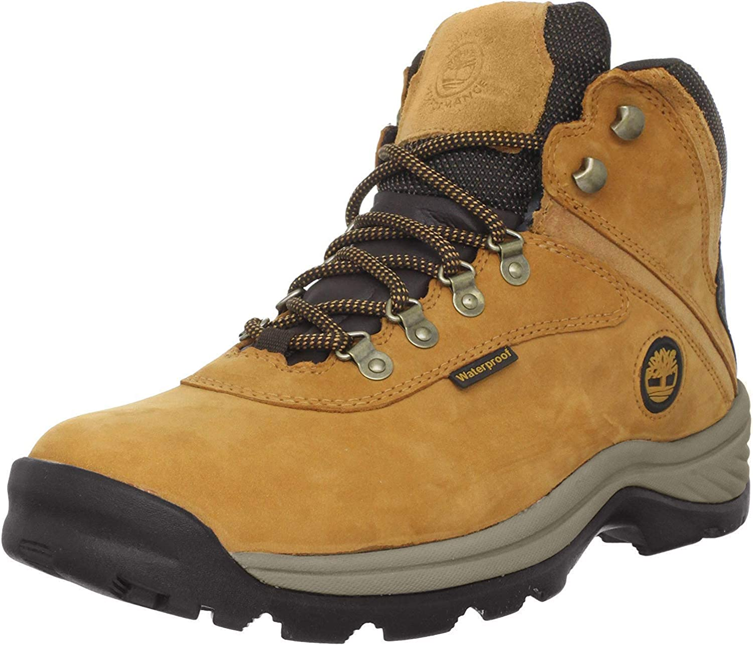 Timberland Men s White Ledge Mid Waterproof Boots, Wheat, 12W