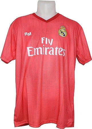 Real Madrid FC Camiseta Adulto Réplica Oficial Licenciado Tercera Equipación 2018/2019: Amazon.es: Deportes y aire libre