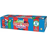 Giant Otter Pops Original 5oz 6 Flavor - 27 Ice Pops
