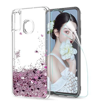 LeYi Compatible with Funda Samsung Galaxy A30 Silicona ...