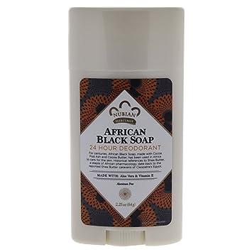 Amazon.com : Nubian Heritage 24 Hour Natural Deodorant African ...