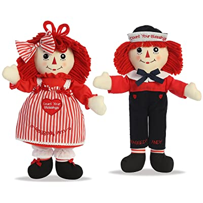 Raggedy Ann & Andy Count Your Blessings Dolls by Aurora: Toys & Games