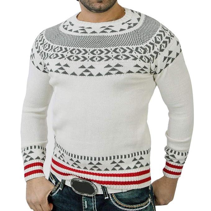 Naturazy Sweater SuéTer Invierno2018,Hombres Sudadera Jersey De Punto Manga Larga SuéTer Sudadera Invierno SóLidos Jersey De Punto SuéTer De Cuello Alto ...