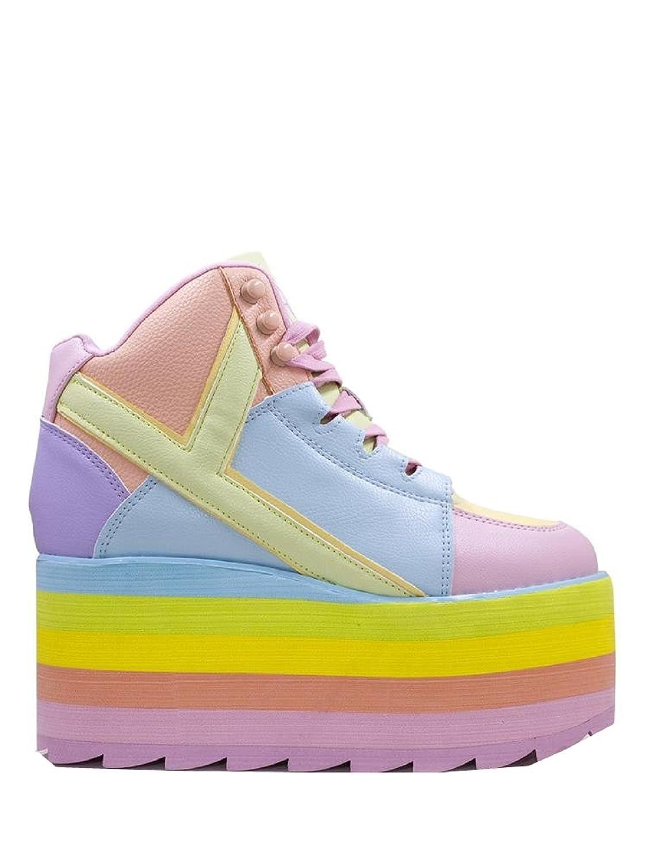 b0b3c2f9e904 Y.R.U. Youth Rise UP Qozmo Hi Pastel Platform Shoes Sneaker