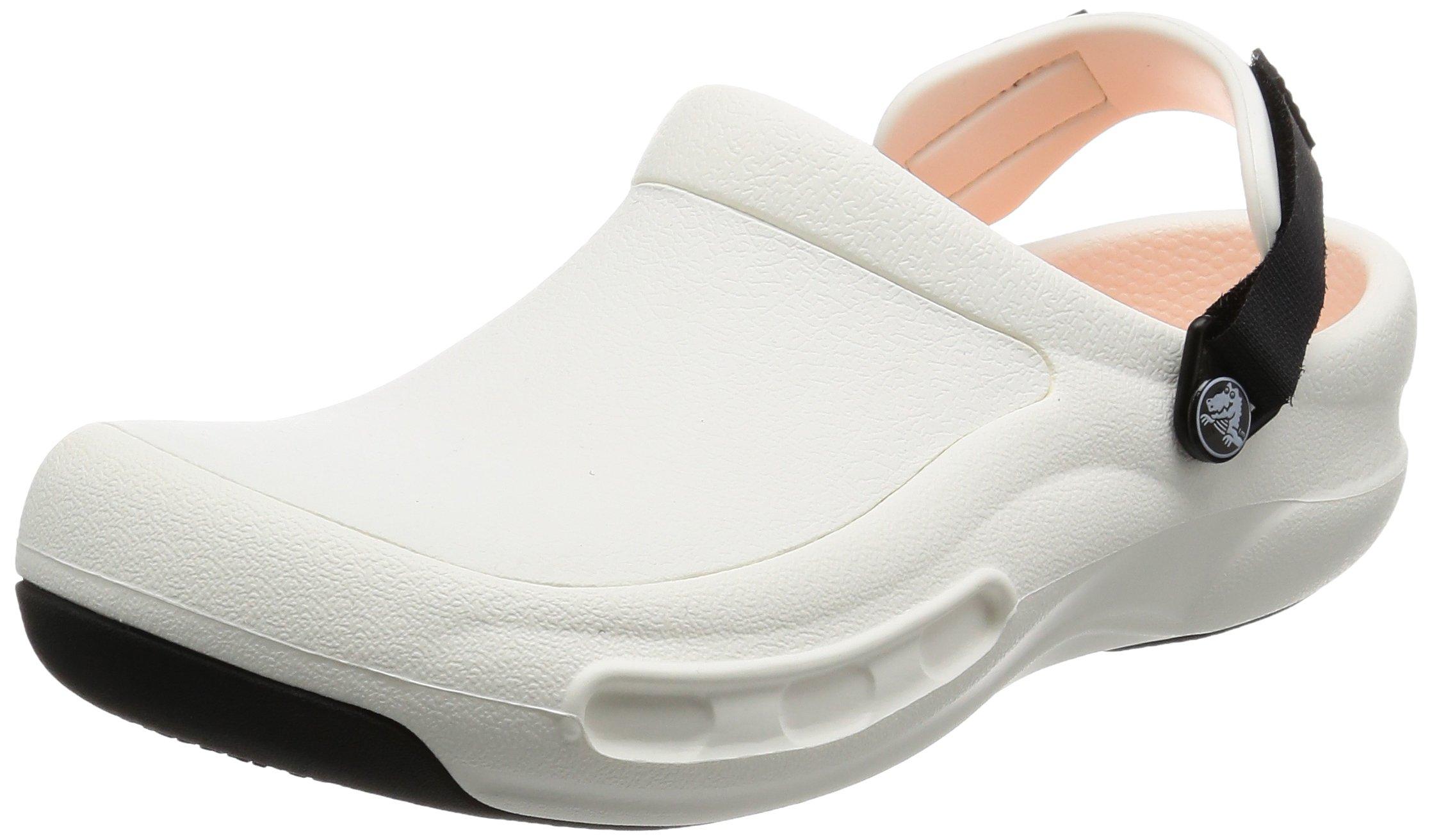 crocs Unisex 15010 Bistro Pro Clog, White, 4 US Men's / 6 US Women's