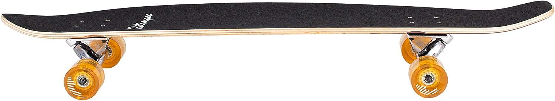 Retrospec Zed Bamboo Longboard Skateboard - 2
