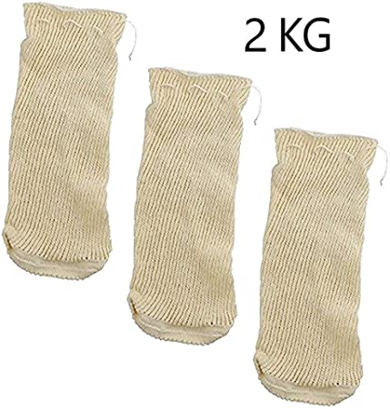 【 CARACTERÍSTICAS PRINCIPALES 】🠞 Mallas de cocción fabricadas en resistente y duradero algodón acrí
