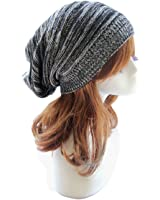 Sandistore hot sale Unisex Knit Baggy Beanie Beret Winter Warm Oversized Ski Cap Hat