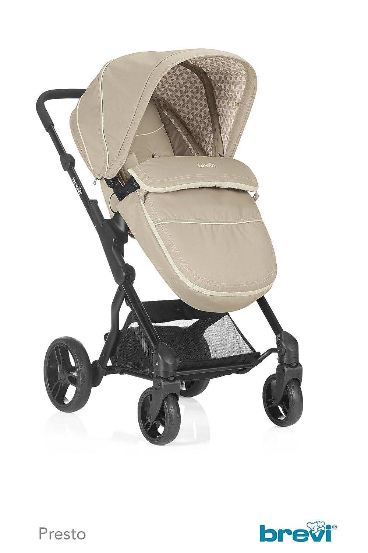 Brevi Wally estribo para carrito o silla de paseo negro