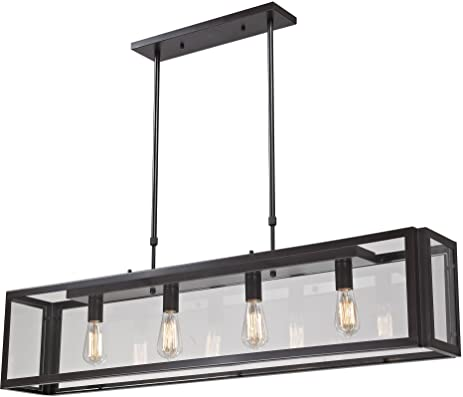 elk 47 by 51inch parameters 4light clear pendant with