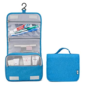 e7c0a4a8f0 Amazon.com   Hanging Cosmetic Bag Makeup Bag Travel Toiletry Bags for Men  and Women