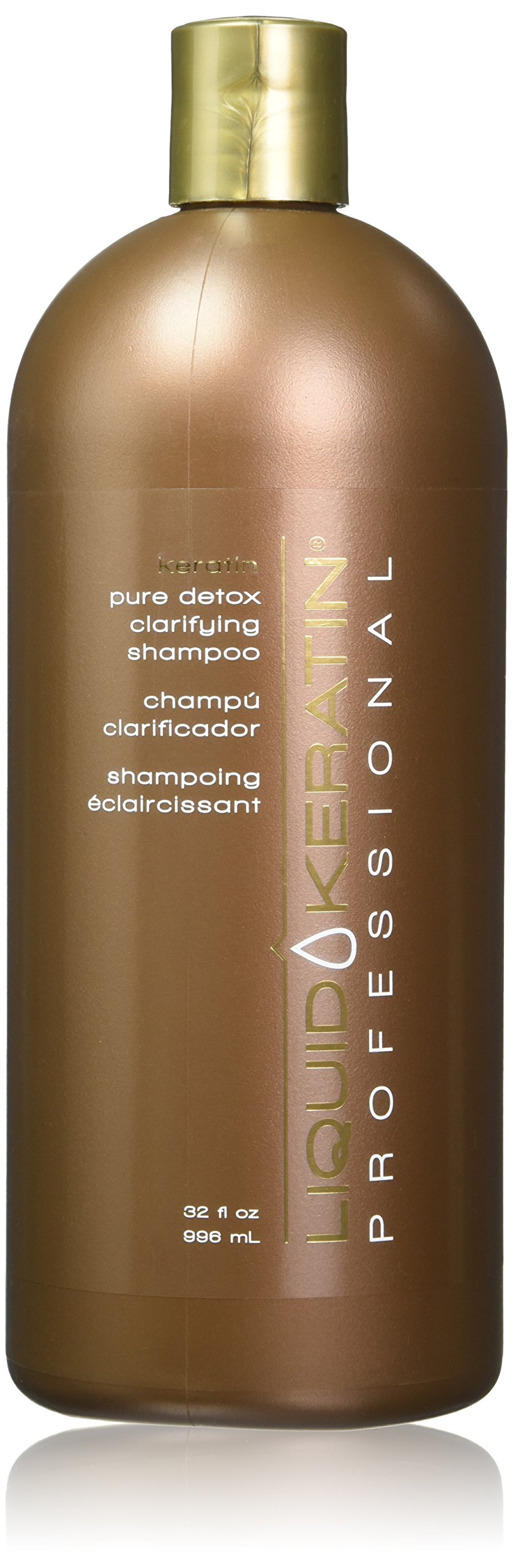 Liquid Keratin Professional Pure Detox Clarifying Shampoo, 32 Ounce