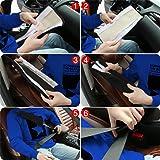 SENHAI 4 Pieces Soft Seat Belt Pads, Faux Sheepskin