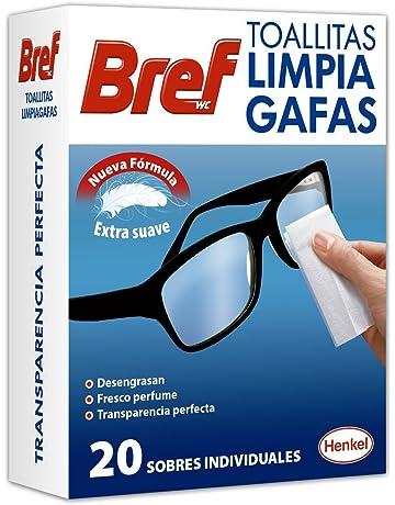 Bref - Toallitas limpia gafas, 4x20 toallitas