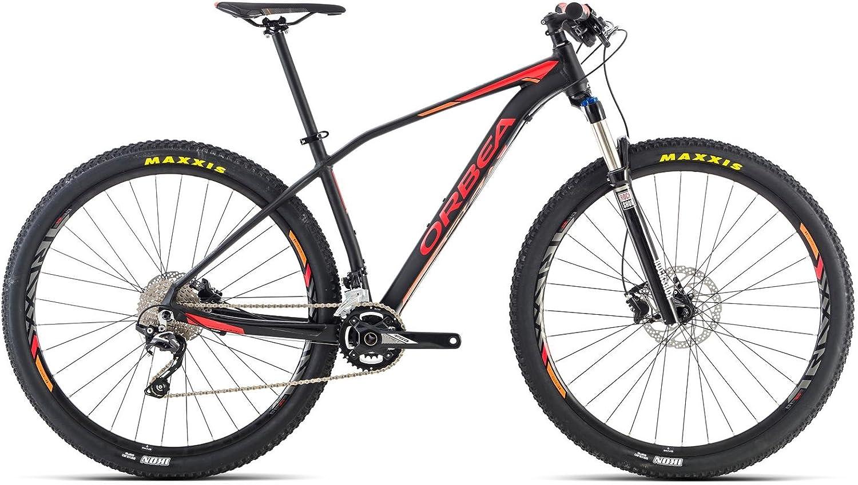Bicicleta Montaña Orbea alma H50, 29 pulgadas, talla M, negro-rojo ...