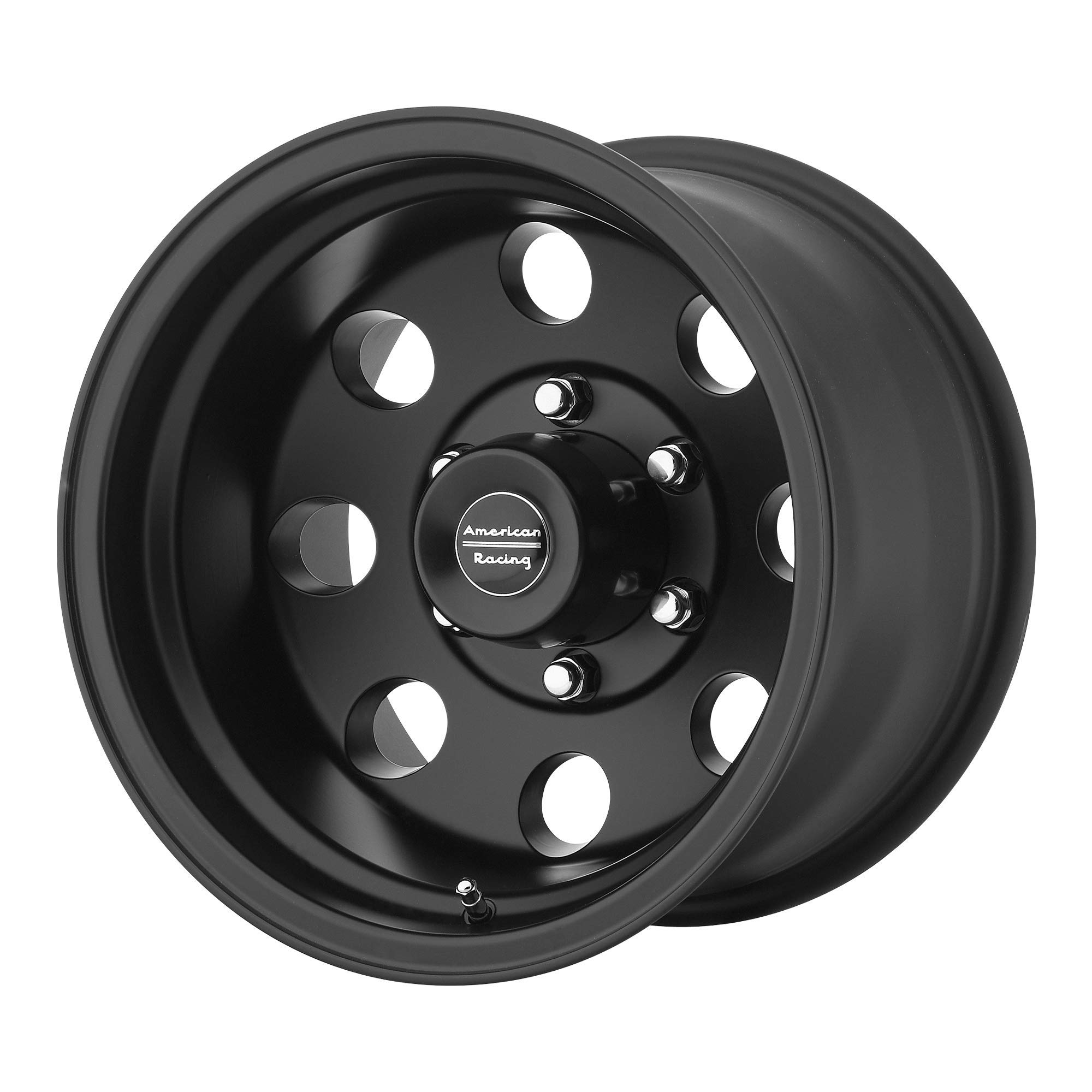 AMERICAN RACING BAJA SATIN BLACK BAJA 15x7 5x120.65 SATIN BLACK (-6 mm) Wheel Tire