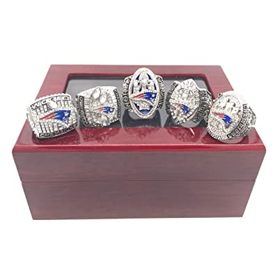 Display Cases Boston Red Sox Championship Ring Anddisplay Case 3d Printed Replica Man Cave Sports Mem, Cards & Fan Shop