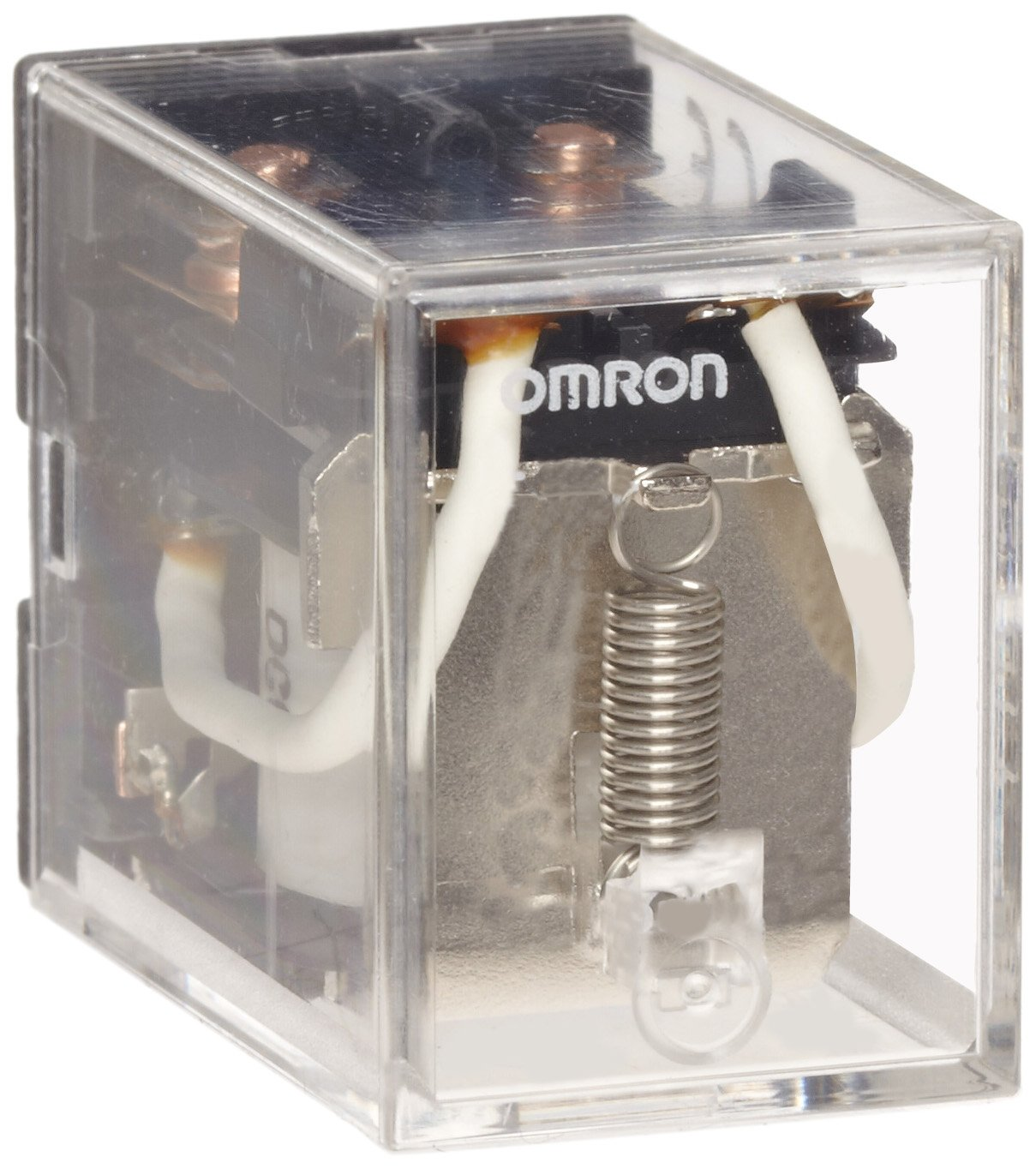 Omron LY2-AC110/120 General Purpose Relay, Standard Type, Plug-In/Solder Terminal, Standard Bracket Mounting, Single Contact, Double Pole Double Throw Contacts, 9.9 to 10.8 mA at 50 Hz and 8.4 to 9.2 mA at 60 Hz Rated Load Current, 110 to 120 VAC Rated Lo