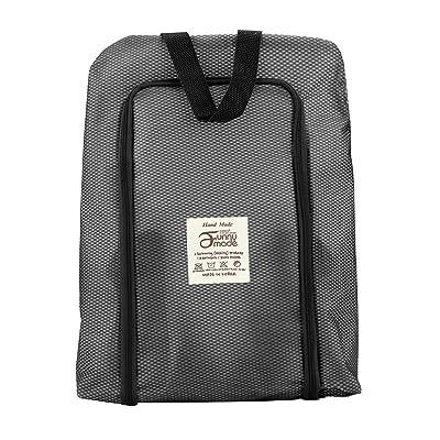 Alonea Portable Travel Shoe Bag Zip View Window Pouch Storage Waterproof Housekeeping Organizer
