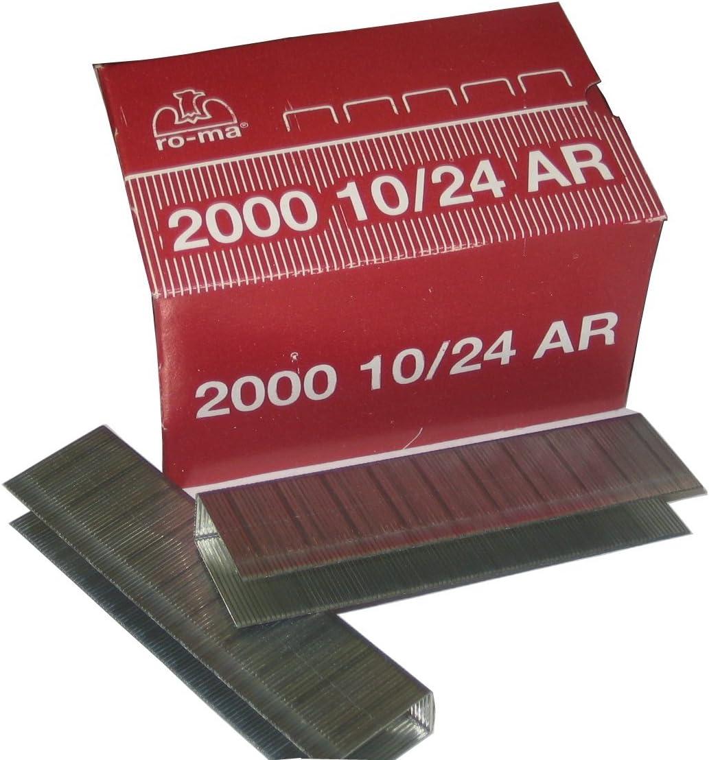 Roma Blok 10//24 15//16 Staples-2,000 staples per box