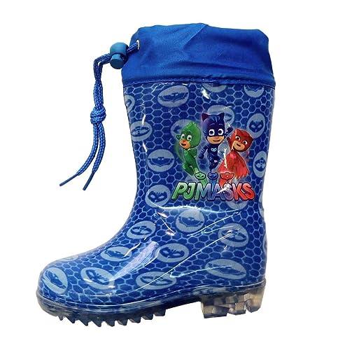 pj masks Niños Botas de Agua Azul Size: 28