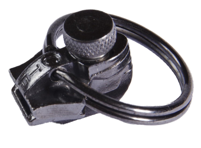 FixnZip Black Nickel Replacement Zipper for Sewing, Medium CTF Enterprises. Inc. MGZS58