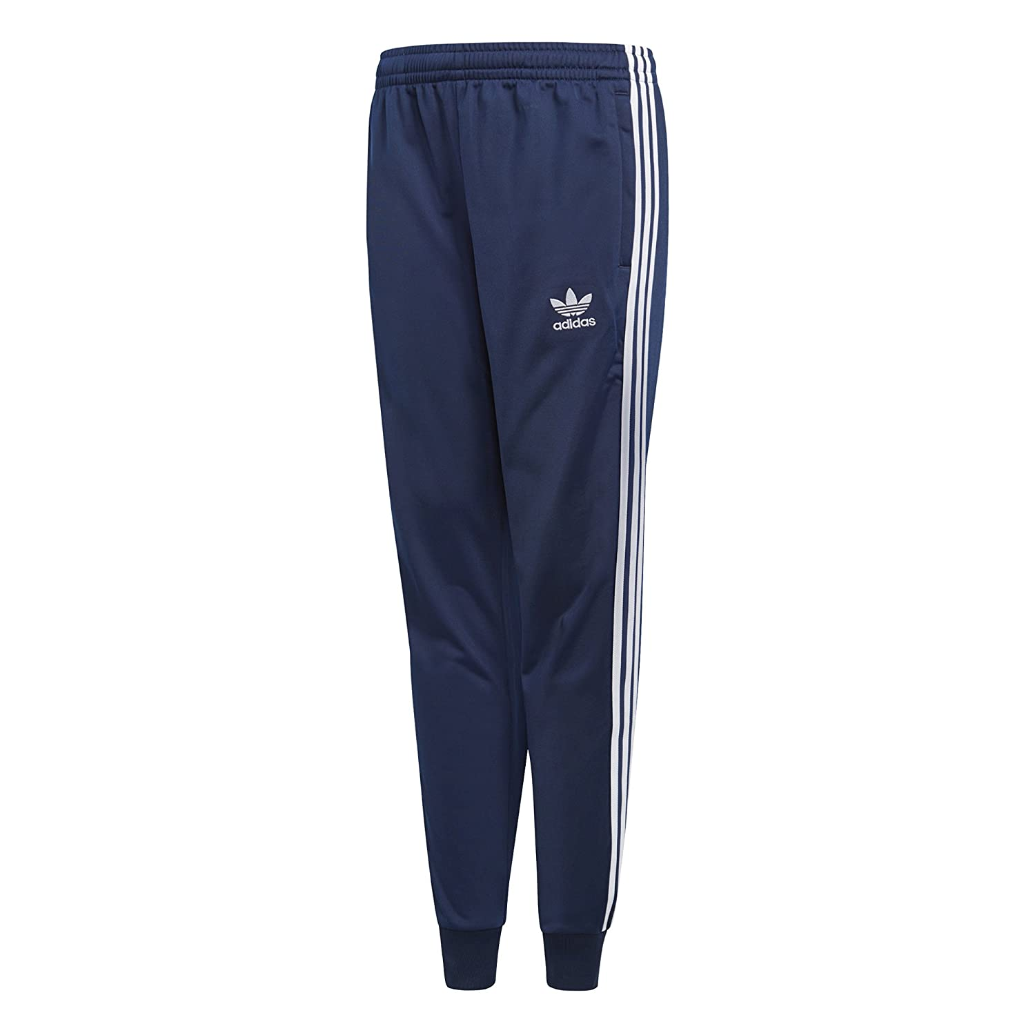 effd1d789f5b Amazon.com  adidas Originals Kids Boy s Superstar Pants (Little Kids Big  Kids) Collegiate Navy X-Large  Clothing