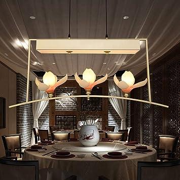 TXX Lámparas colgantes de mesa creativas Nueva lámpara de araña ...