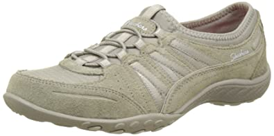 6953bd63 Skechers Women's Relaxed Fit: Breathe Easy - Moneybag Sneaker, Beige  (Taupe),
