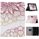 """Amazon Fire HDX 7 2013 Case, Asnlove Ultra Slim Premium PU Leather Flip Holder Stand Cover With Soft TPU Inner and Auto Wake / Sleep Cover Case for Amazon Kindle Fire HDX 7"""" (3rd generation - 2013 release), Pink Rose"""