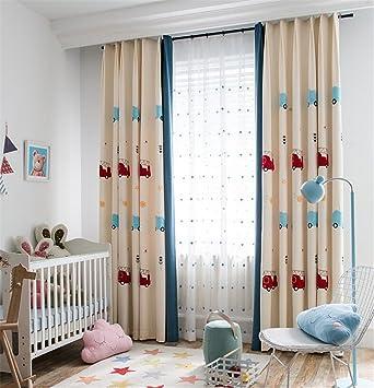 GUOCAIRONG Enfants Rideaux pour Salon Chambre Motif Conception ...
