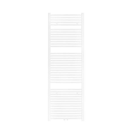 VILSTEIN Bad-Heizkörper, Horizontal, Weiß, Seitenanschluss und  Mittelanschluss, 1800x600 mm