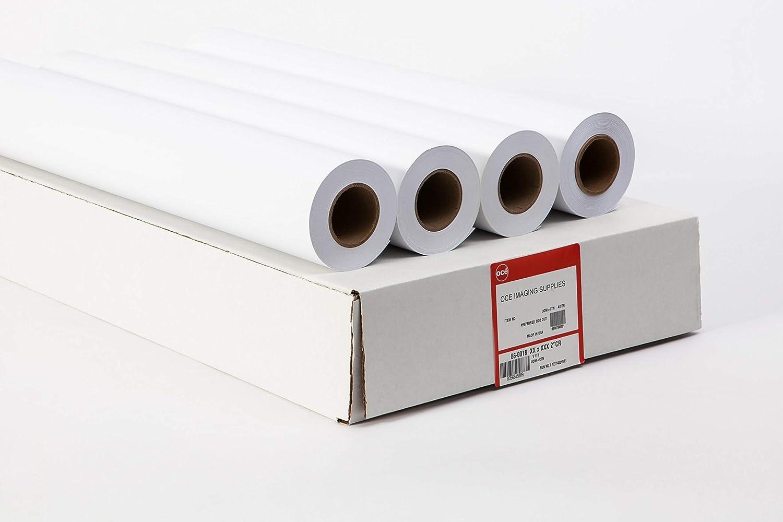 "4 Rolls 18/"" x 500/' 20lb Bond Paper 3/"" core Xerox Ricoh Oce KIP"